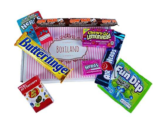 Amerikanische Süßigkeiten Set - Box - Paket   Candy Mix   USA ...