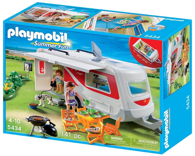 Freizeit PLAYMOBIL 5434 Summer Fun Familien-Caravan
