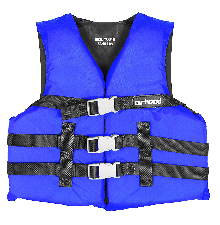 Airhead Nylon Youth PFD Open Side Life Jacket