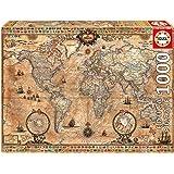 Educa Borrás - Puzzle Mapamundi de 1000 piezas (15159)