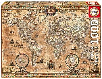 John n hansen antique world map 1000 piece puzzle jigsaw puzzles john n hansen antique world map 1000 piece puzzle gumiabroncs Images