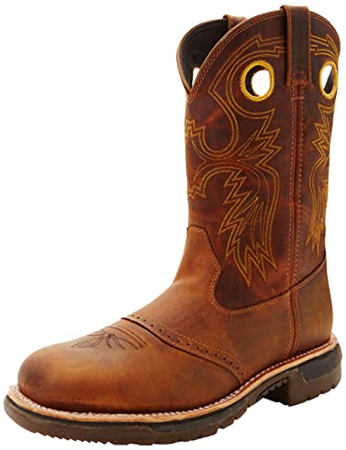 Amazon.com | Rocky Men&39s Original Ride Steel-Toe Trail Work Boot