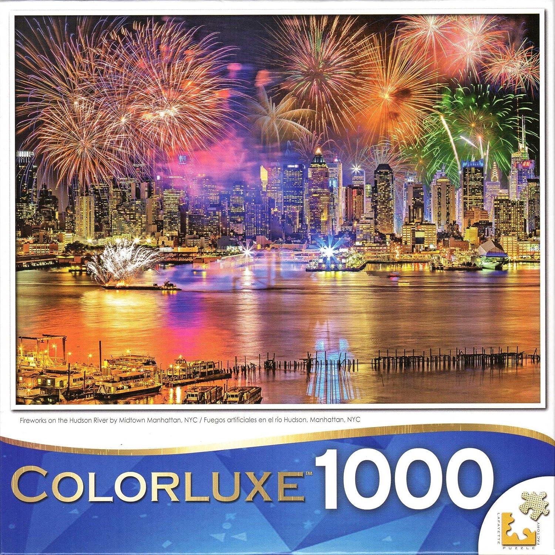 感謝の声続々! Colorluxe 1000 Pieceパズル – Fireworks On by The Hudson B077F4WMNV River Fireworks by Midtown Manhattan B077F4WMNV, Sorayu:24ec07a0 --- a0267596.xsph.ru