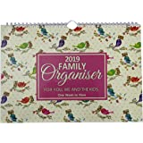 2019 monthly family calendar appointment planner - one month to view by Arpan (Family Purple)