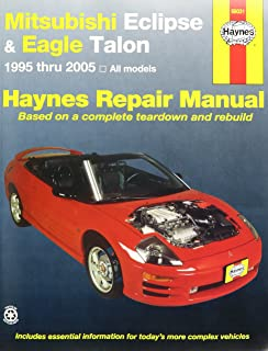 amazon com haynes repair manuals mitsubishi eclipse eagle talon rh amazon com Eagle Talon Car 1995 eagle talon tsi owners manual