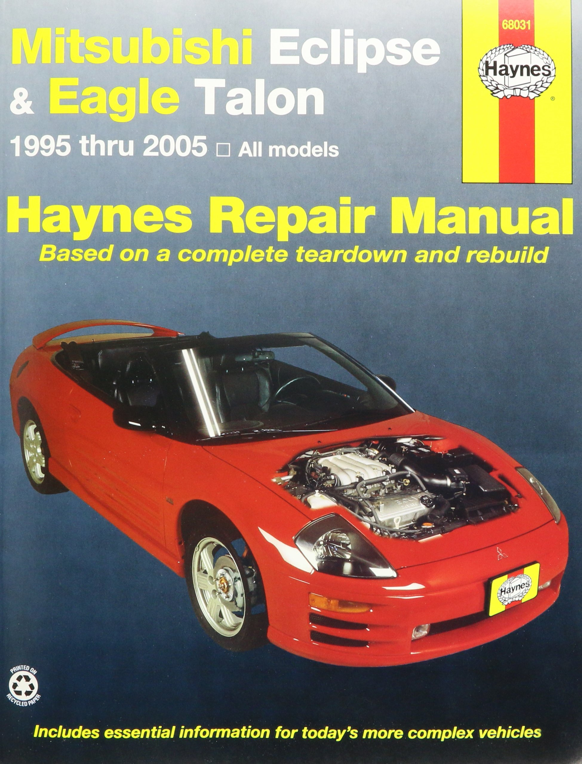 haynes mitsubishi eclipse and eagle talon 95 01 manual rh amazon com 1992 Eagle Talon 1997 Eagle Talon