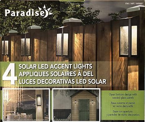 Amazon paradise solar 4 led accent lights outdoor solar paradise solar 4 led accent lights outdoor solar lights solar outdoor decor 4 aloadofball Choice Image
