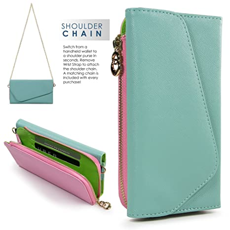 Amazon.com  EnvyDeal Womens Wallet Cell Phone Case for ZTE Grand X 3 ... 7a7a1834b9