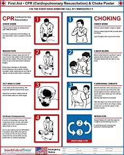 photograph about Cpr Posters Free Printable identify : CPR Poster - Laminated: Dwelling Kitchen area