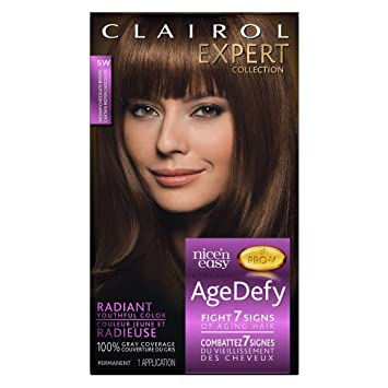 Amazon Com Clairol Age Defy Permanent Hair Color Medium Chocolate