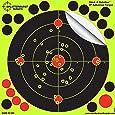 """Splatterburst Targets - 8 inch Adhesive """"Stick & Splatter"""" Reactive Shooting Targets - Gun - Rifle - Pistol - AirSoft - BB Gun - Pellet Gun - Air Rifle"""
