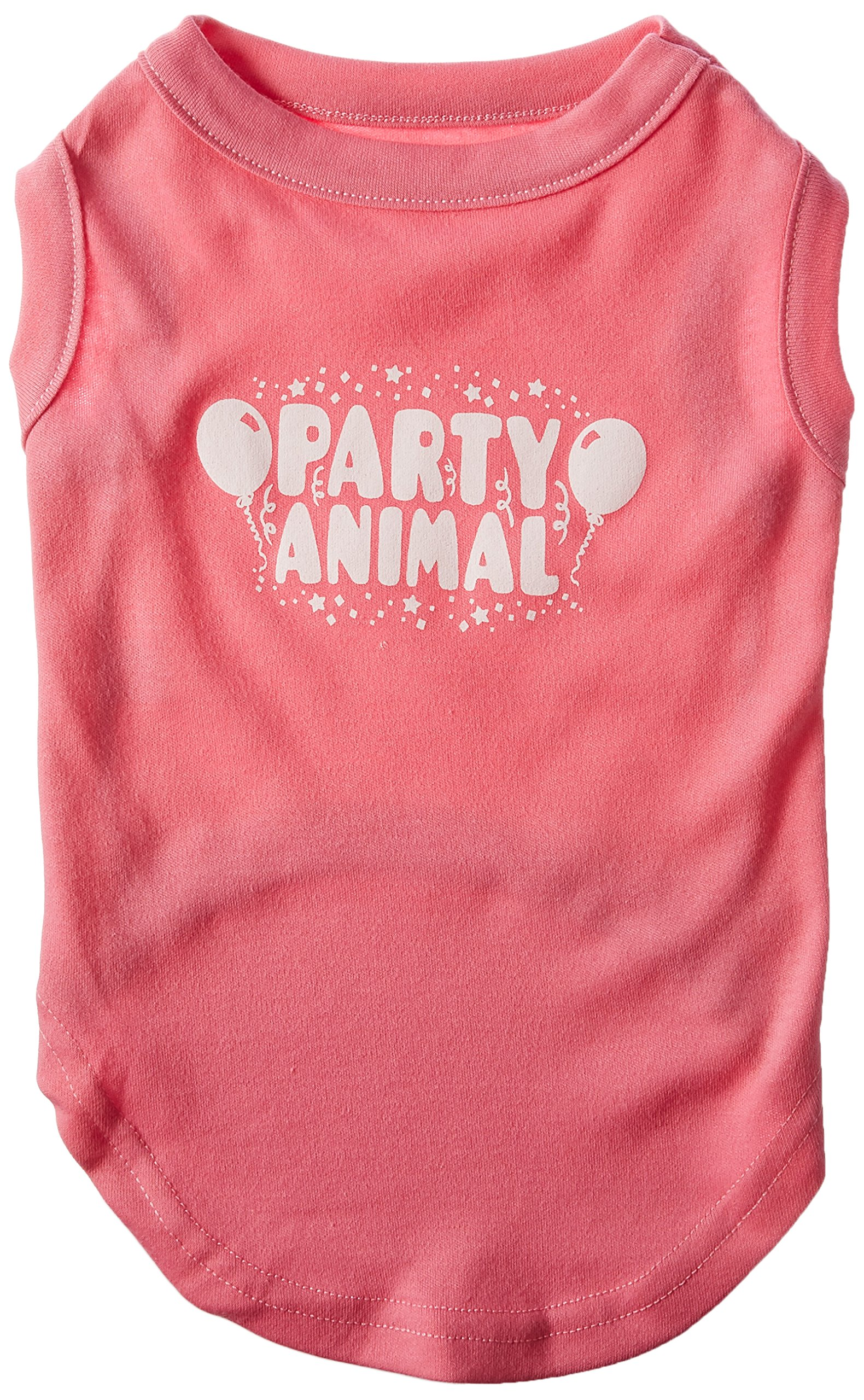 Mirage Pet Products Party Animal Screen Print Shirt Bright Pink Lg (14)