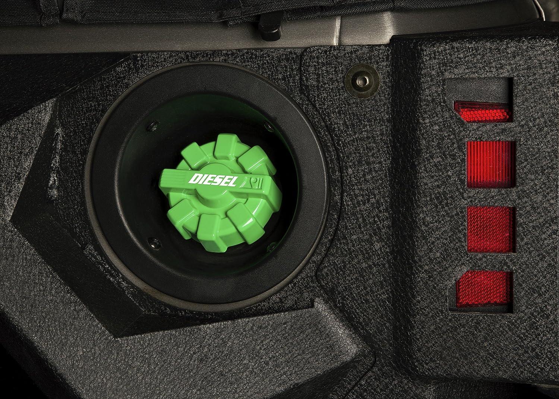 Rugged Ridge 11229.12 Elite Fuel Cap Red; for 2001-2018 Jeep Wrangler TJ//LJ//JK//JKU Aluminum
