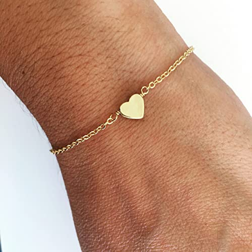 unique jewelry findings, bracelet with a small heart
