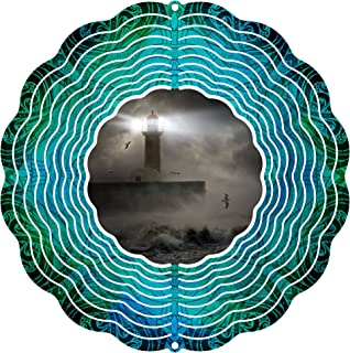 """product image for Next Innovations 101408001-STORMYSEA Wind Spinner, 10"""" Diameter, Multicolor"""