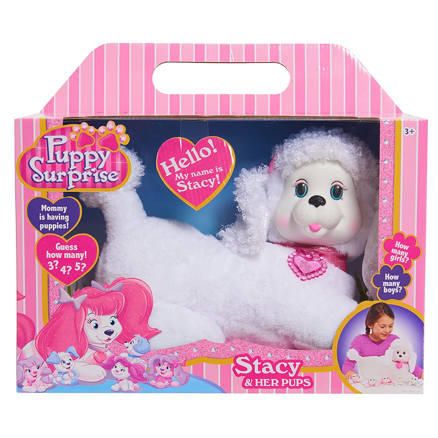 Amazon Puppy Surprise Plush Stacy Toys & Games