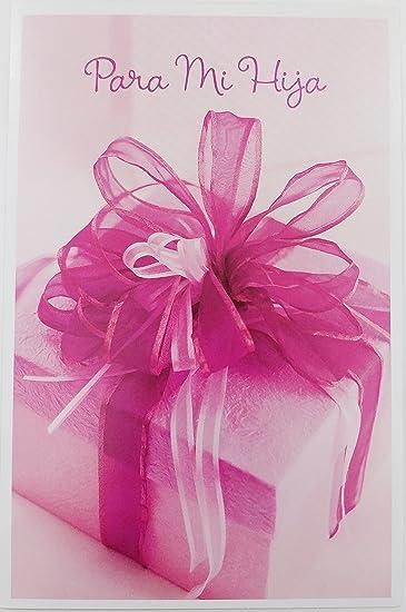 Amazon.com : Para Mi Hija Feliz Cumpleanos - Happy Birthday ...