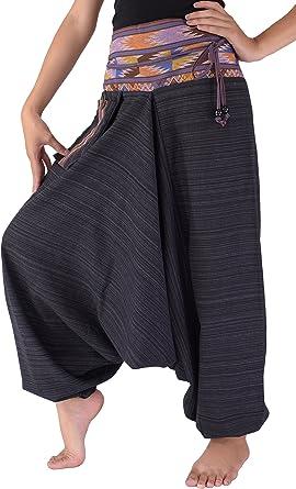 Plus Size Pants Oversized Pants Drop Crotch Pants Danellys D16.2.7 Harem Pants Women Black Harem Pants Womens Pants Harem Yoga Pants