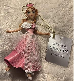 Color Plateado y Dorado Hada de Resina Sobre un Reno Gisela Graham