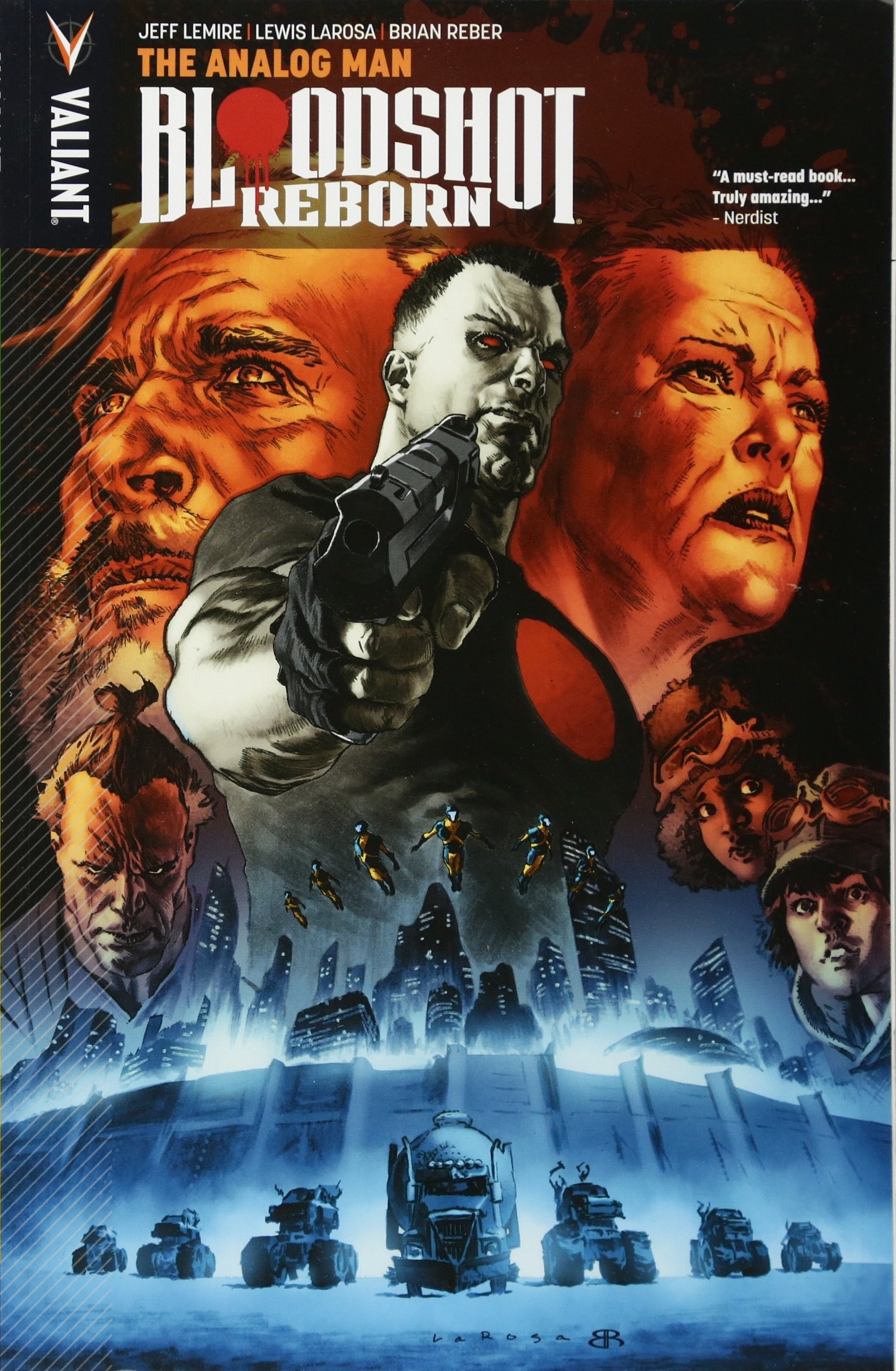 Download Bloodshot Reborn Volume 3: The Analog Man pdf epub