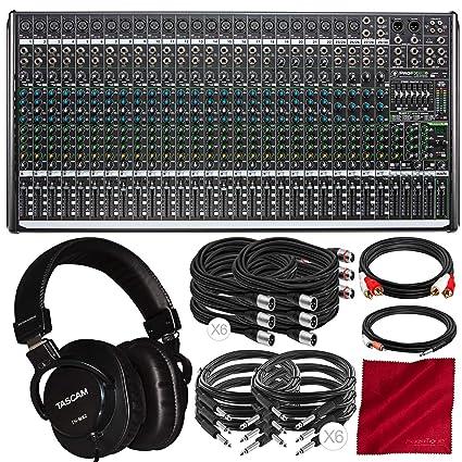 Amazon.com: Mackie ProFX30v2 - Mezclador de sonido (30 ...
