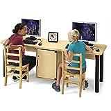 Jonti Craft 3344JC051 Dual Computer Lab Table