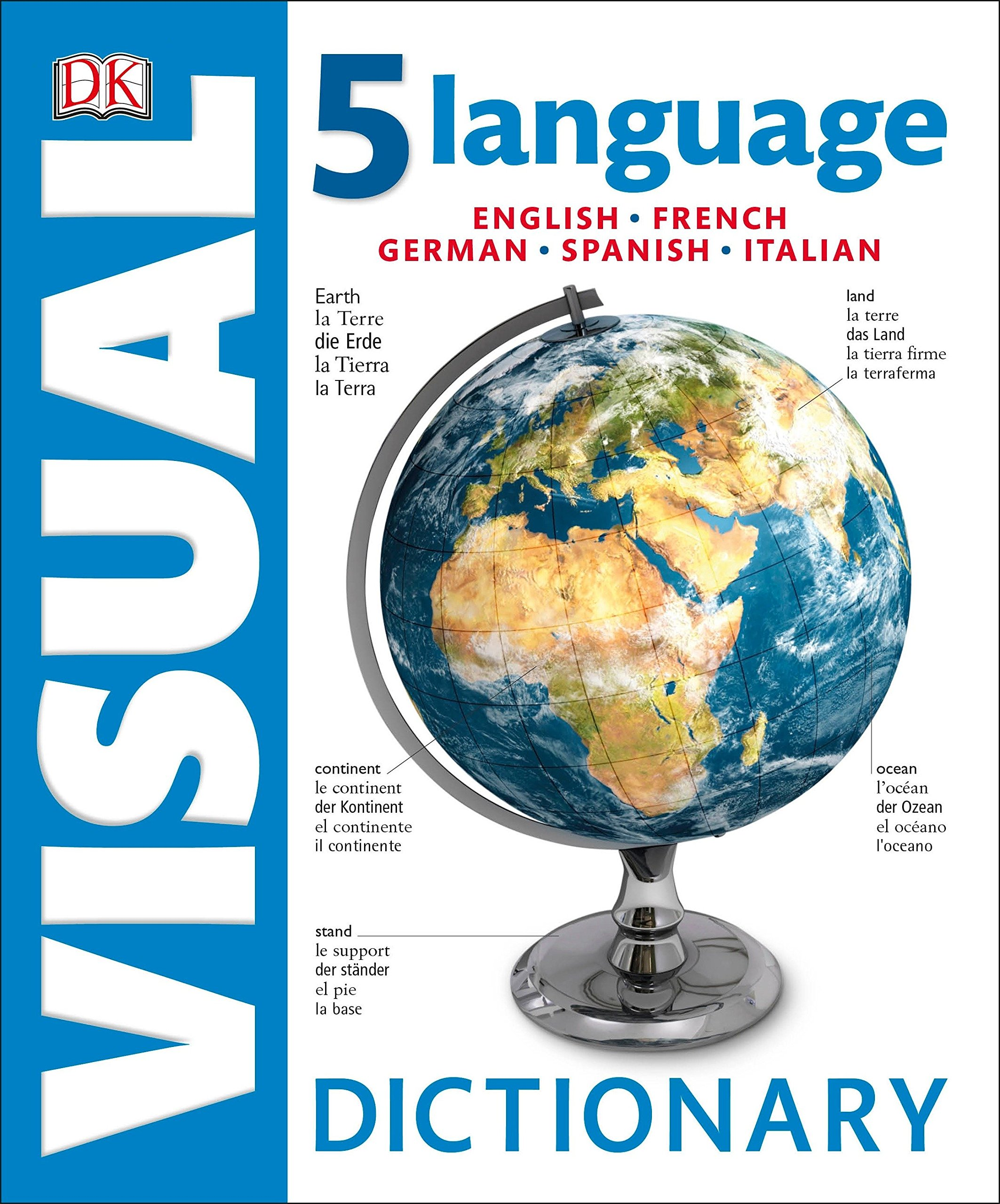 5 Language Visual Dictionary: English, French, German, Spanish, Italian pdf