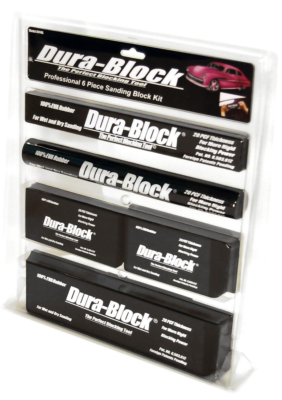 Dura-Block AF44A Black 6-Piece Sanding Block Set Trade Associates