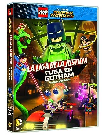 Amazon.com: Lego : La Liga De La Justicia - Fuga En Gotham ...