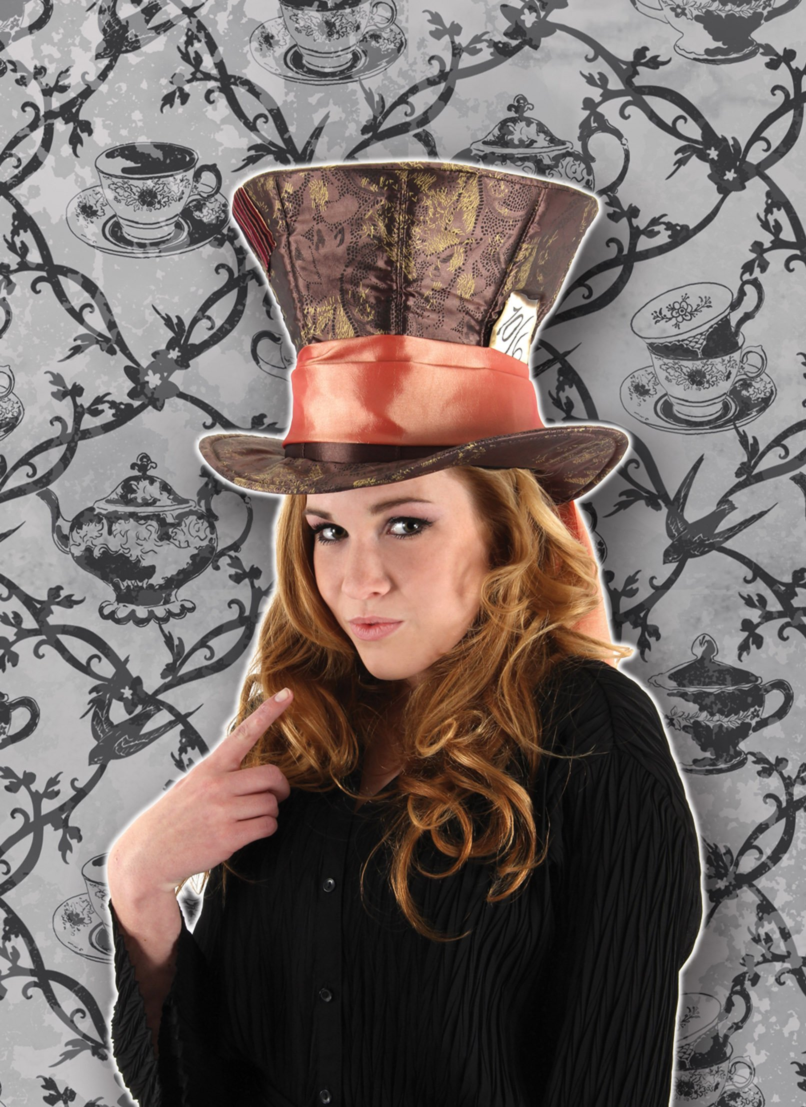 Alice in Wonder land Mad hatter HAT by elope (Image #1)