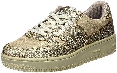 YUMAS Alexia - Zapatos clásicos con Cordones para Mujer, Color Dorado, Talla 38: Amazon.es: Zapatos y complementos