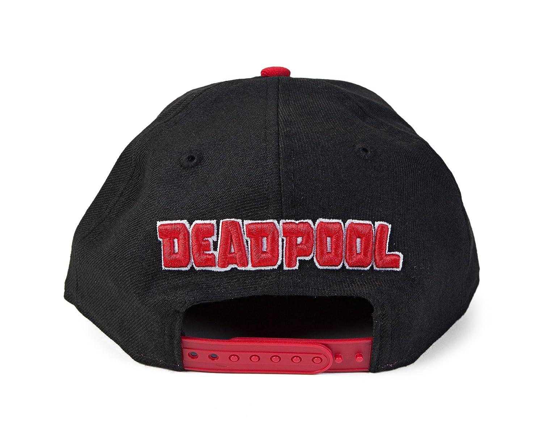 Marvel Deadpool Logo Sub 9Fifty Snapback Gorra De Béisbol: Amazon.es: Juguetes y juegos
