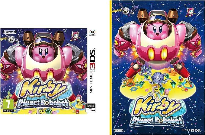 Kirby: Planet Robobot + Cuaderno: Amazon.es: Videojuegos