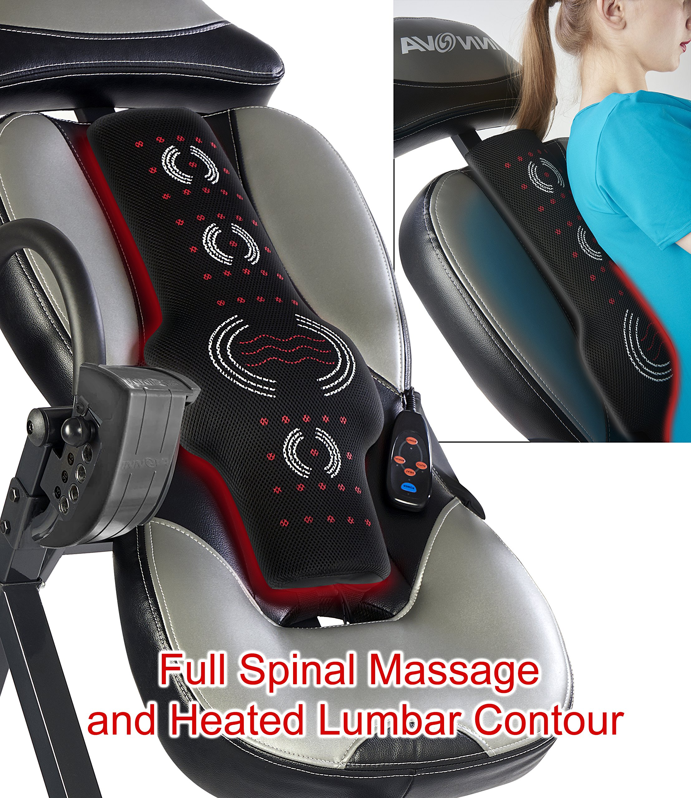 Innova ITM5900 Advanced Heat and Massage Inversion Therapy Table by Innova Health and Fitness (Image #3)