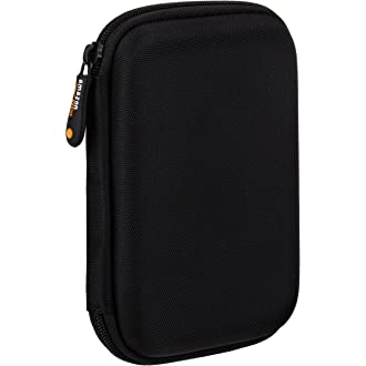 #2 AmazonBasics External Hard Drive Case