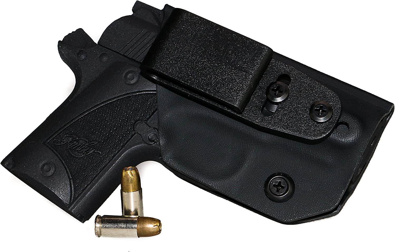 Nylon side holster for Kimber Micro 9 with crimson trace laser