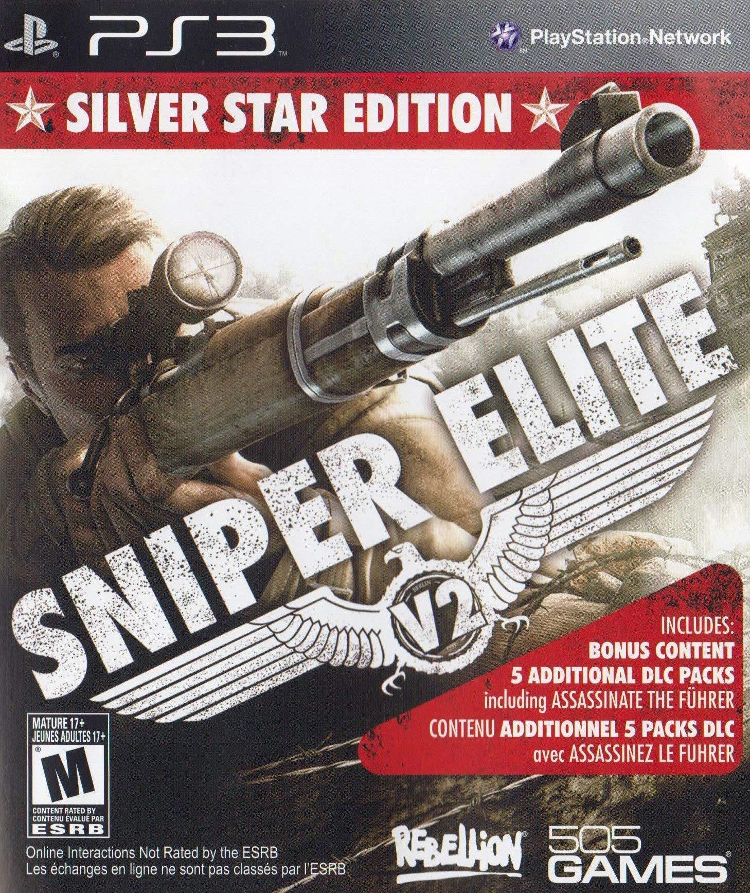 Amazon Com Sniper Elite V2 Silver Star Edition Playstation 3