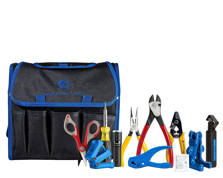 Screwdriver Jonard Tools TK-121 Fiber Prep Kit+ with Slitters Scissors Cutters and More