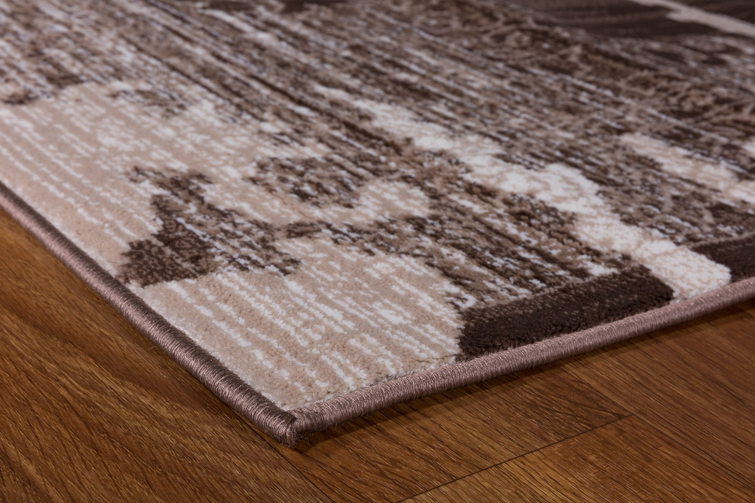 Antep Rugs Zeugma Collection Vintage Area Rug 288-Brown Beige 7'10 X 10' by Antep Rugs (Image #2)