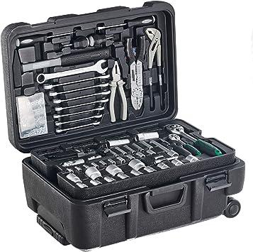 Mannesmann - M29070 - Maletín de herramientas móvil, 122 piezas ...