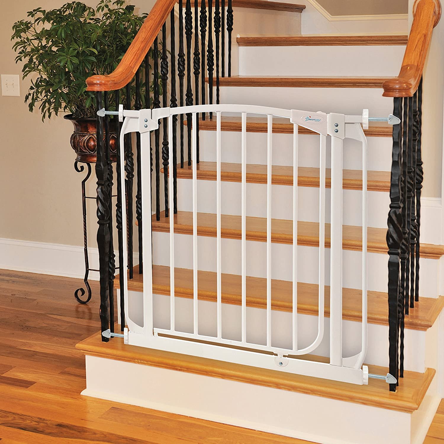 Amazon.com : Dreambaby Banister Gate Adaptors, Silver : Indoor Safety Gates  : Baby