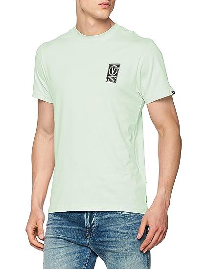 3c3d55a3 Vans_Apparel Men's Worldwide T-Shirt, Green (Ambrosia P0N), X-Small