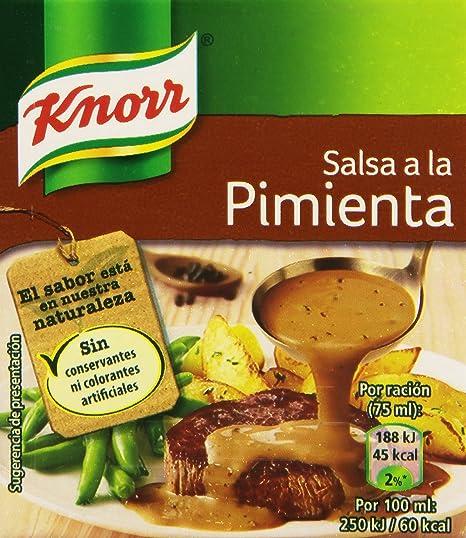 Knorr - Salsa A La Pimienta, 300 ml