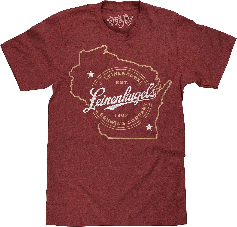 Tee Luv Leinenkugel's Beer T-Shirt - Leinenkugels Brewing Company Wisconsin Shirt