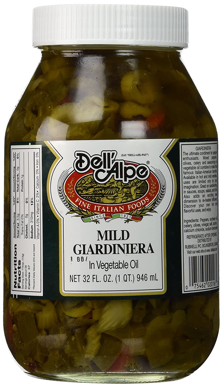 Dell Alpe, Giardiniera Mild 32 Oz