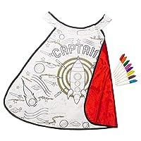 Great Pretenders Color-A-Cape Rocket Man Dress-Up Play