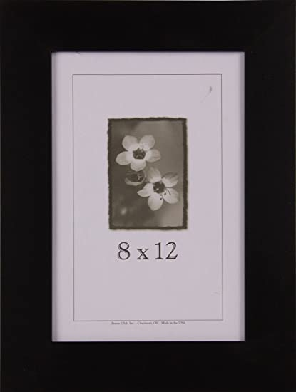 Amazon.com - 8x12 Black Wood Frames - Affordable Series (Large) -