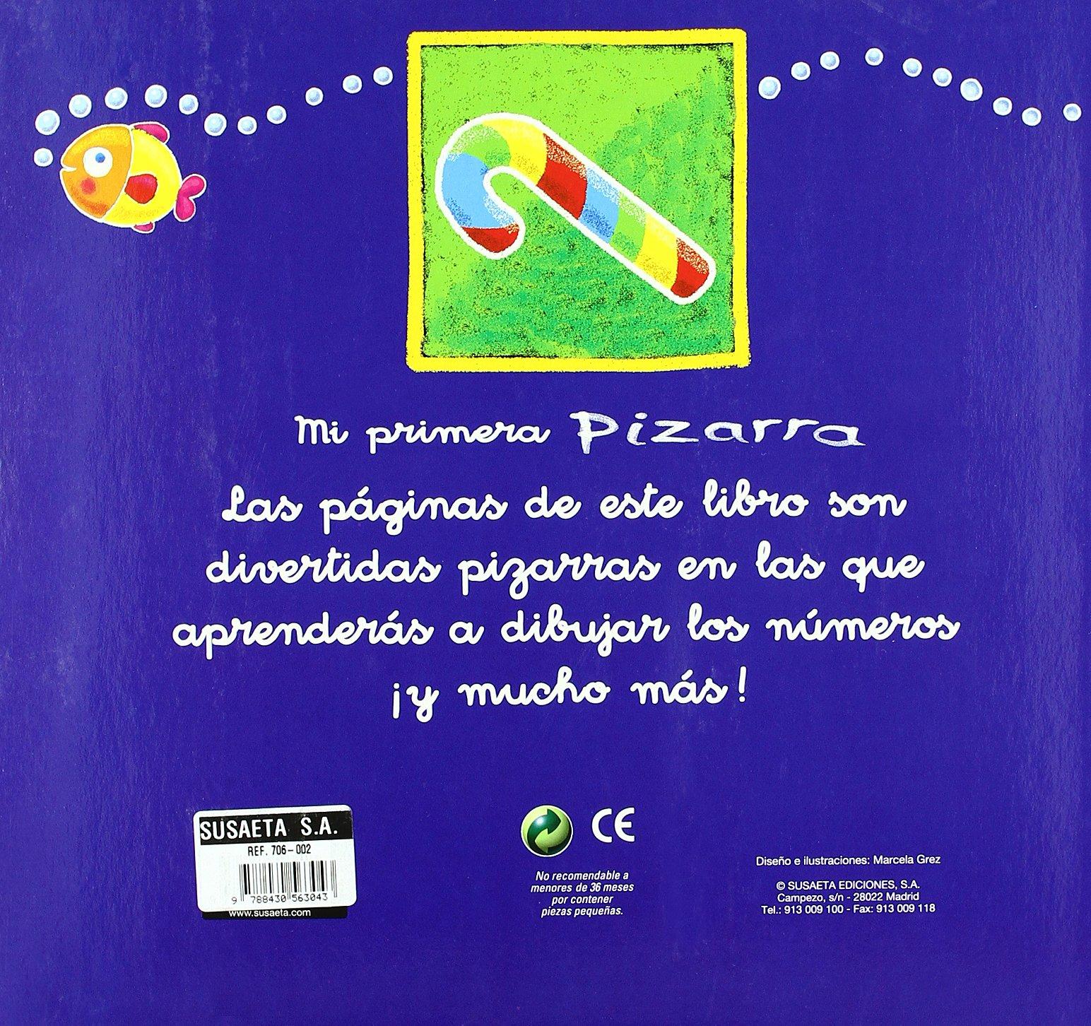LOS NUMEROS (MI PRIMERA PIZARRA): Susaeta Ediciones ...
