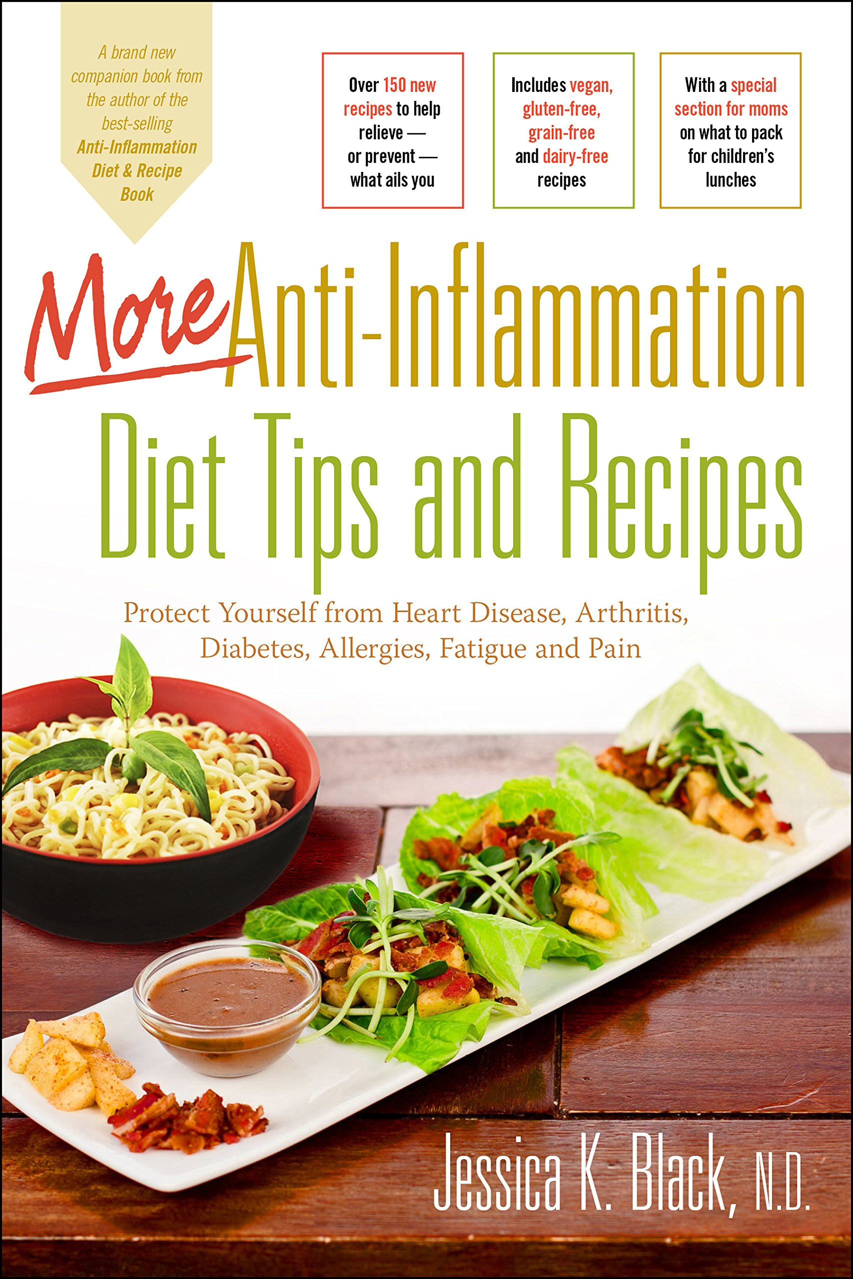More anti inflammation diet tips and recipes protect yourself from more anti inflammation diet tips and recipes protect yourself from heart disease arthritis diabetes allergies fatigue and pain jessica k black nd forumfinder Images