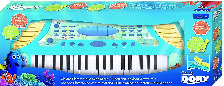 Dory Disney Teclado con Micrófono, Instrumento Piano Infantil apartir de 3 años (Lexibook K710DO): Amazon.es: Juguetes y juegos
